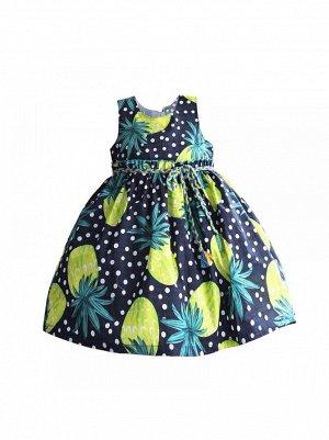 Платье Zoe Flower ZF76 navy