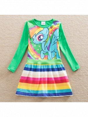 Платье Nova LH6218 green
