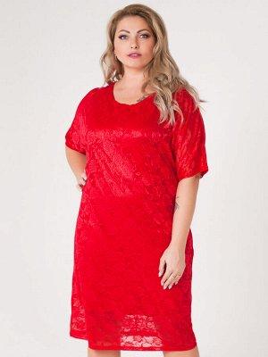 Платье Саманта (красный)