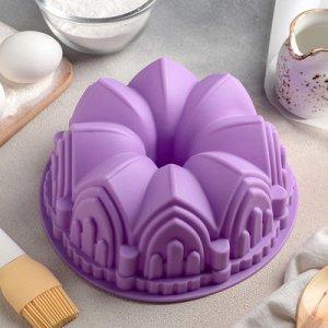 """Форма для выпечки """"Немецкий кекс. Замок"""" 22х8 см, цвета МИКС"""