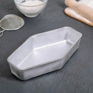 Хлебопекарные формы Кекс ромбический 24,5х14х5 см