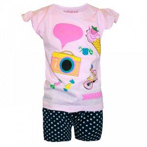 Майка+шорты для девочек арт 50023