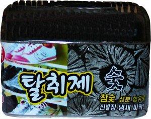 HAPPYROOM Поглотитель запахов для обувных ящиков, шкафов и комодов (уголь) 150г