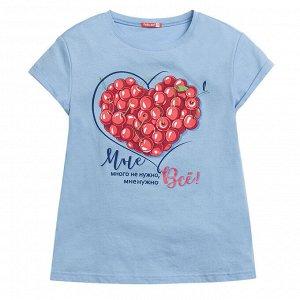 """GFT4120 джемпер (модель """"футболка"""") для девочек"""