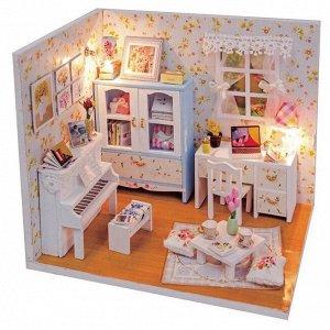 Комната Александры. Румбокс для самостоятельной сборки, набор с инструментами и материалами.