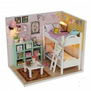 Комната девочек двойняшек. Румбокс для самостоятельной сборки, набор с инструментами и материалами.