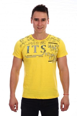 Футболка ITS (Желтый)