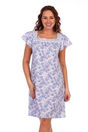 Сорочка Анжелика (Голубой)
