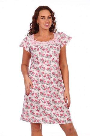 Сорочка Анжелика (Розовый)
