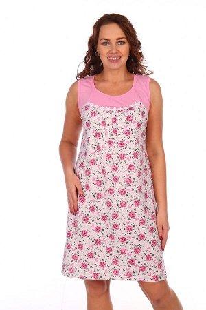 Сорочка Стеша (Розовый)