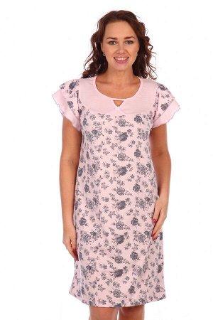 Сорочка Таисия (Розовый)