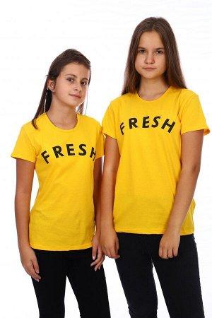 Футболка FRESH (Желтый)