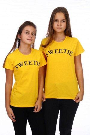 Футболка SWEETIE (Желтый)