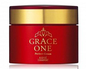 KOSE Grace One Perfect Cream - насыщенный крем для лица для упругости и эластичности