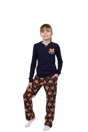 """Пижама детская """"Лисенок"""" для девочек"""