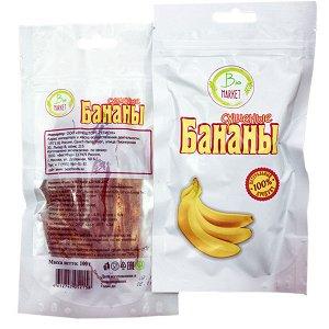 Бананы сушеные, 100г