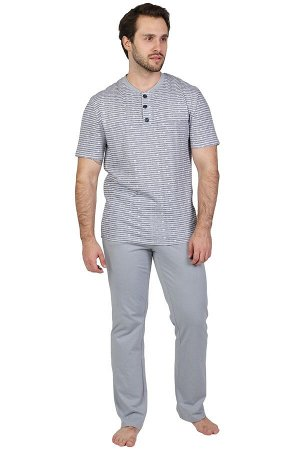 Пижама Щеголь Цвет: Серый. Производитель: Оптима Трикотаж