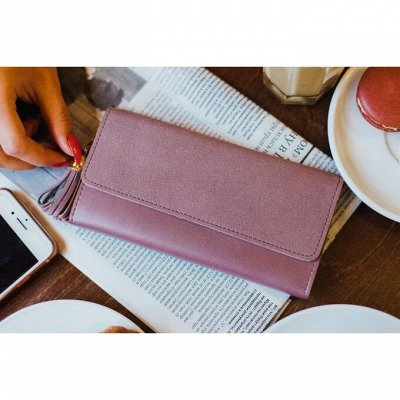 Сумка - чемодан - кошелек — Кошелёк женский, 3 отдела — Кошельки