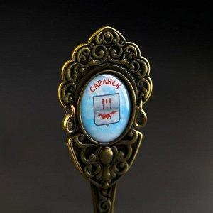 Колокольчик в форме кокошника «Саранск. Собор Святого Феодора Ушакова»