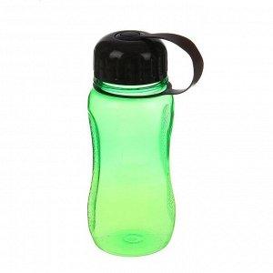 Бутылка для воды 550 мл, микс, 8х17 см
