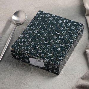 Блюдо сервировочное «Совунья», 18?15,5?3,5 см, цвет хохолка зелёный