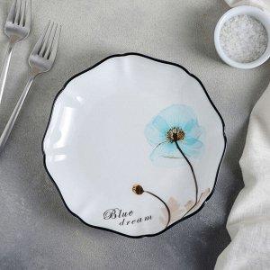 Тарелка десертная «Голубая мечта», 19?3,5 см