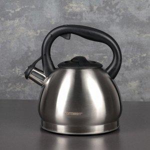 Чайник со свистком «Акса», 3 л, индукция