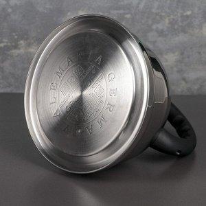 Чайник со свистком «Мориас», 3.5 л, индукция