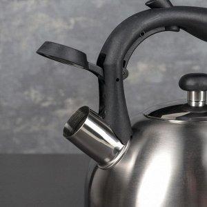 Чайник со свистком «Торонто», 2,5 л, индукция