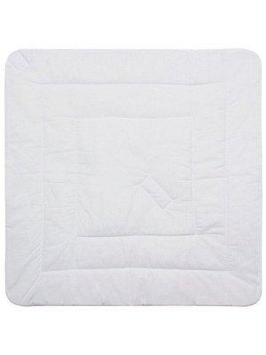 """Конверт-одеяло на выписку """"Панда на воздушном шаре"""" (белое, принт без кружева)"""