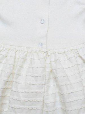 """Крестильное платье """"Надежда"""" с чепчиком"""