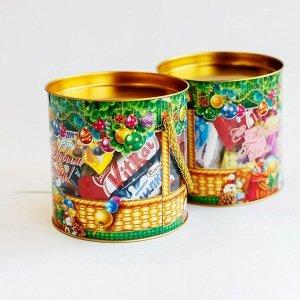 Упаковка для новогоднего подарка Туба Подарок