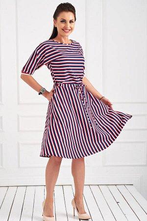 Платье Изящное платье из легкой плательной ткани, с красивой летящей юбкой! Пояс на кулиске - позволяет добиться идеальной посадки на фигуре. Рукав удлиненный, манжет на декоративной резинке. В боковы