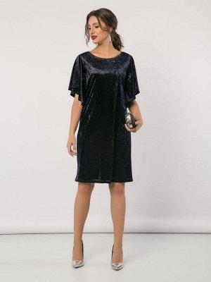 Платье (647/синий)