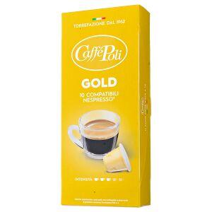 Кофе капсулы CAFFE POLI GOLD 1 уп.х 10 капсул