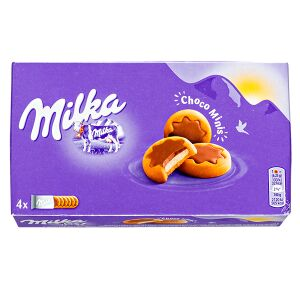 Печенье печенье Милка Choco Minis 150 г