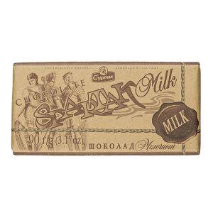 Шоколад Спартак Молочный 90 г 1 уп.х 28 шт.