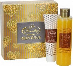 Подарочный набор Skin Juice OR-1703 (гель Vanilla+крем для рук Vanilla), Рос. по 10 шт