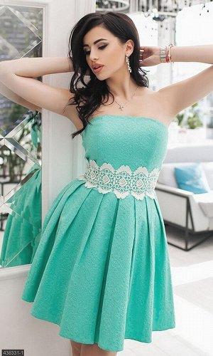 Платье 438331-1 ментол Весна-Лето Украина