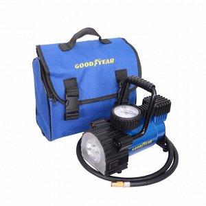 Компрессор Goodyear GY-35L 35 л/мин с фонарем со сьемной ручкой, сумка для хранения GY000104