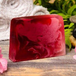 """Косметическое мыло для бани и сауны """"Спелая вишня"""", """"Добропаровъ"""", 100 гр."""