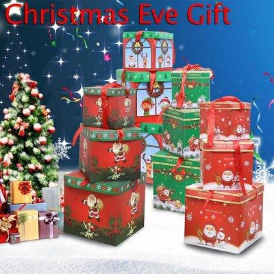 🎄Предзаказ! Новогодние Чудеса Уже Близко! 🎄 — Подарочная Коробка-трансформер)) — Подарочная упаковка
