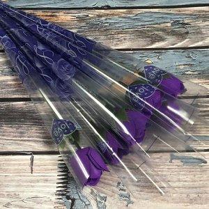 Розочка фиолетовая, шт