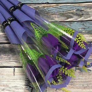 Фиолетовая розочка, шт