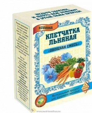"""Клетчатка льняная """"Овощная смесь"""" 300 гр"""