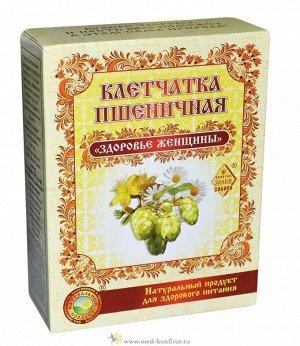 """Клетчатка пшеничная """"Здоровье женщины"""" 150 гр"""