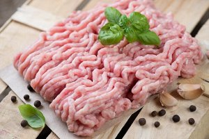 Фарш из мяса индейки в тубах по 0,9 кг