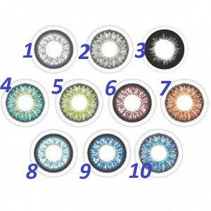 Перекрывающие цветные контактные линзы Офтальмикс Colors (2-тон) (2 линзы)