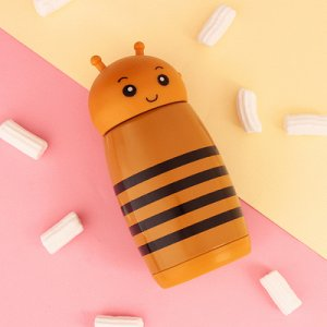 "Термос ""Пчёлка"", 280 мл, 7x16.5 см"