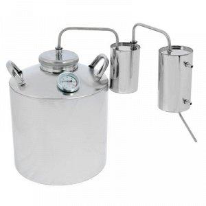 Дистиллятор 16 л, горло 80 мм, термометр